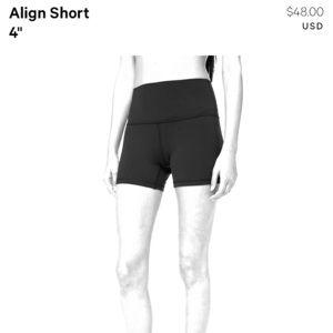 """Align short 4"""""""